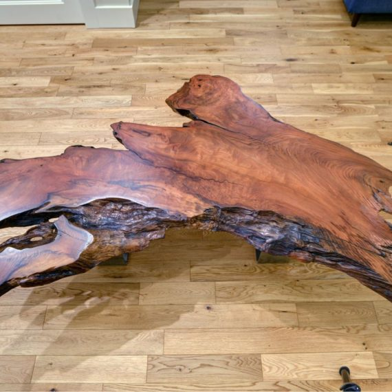 Live Edge California Redwood Coffee Table